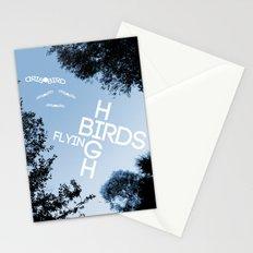 Birds Flying High Stationery Cards