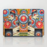 coasters iPad Cases featuring Urban Chestnut Collage by Jen Gotsch