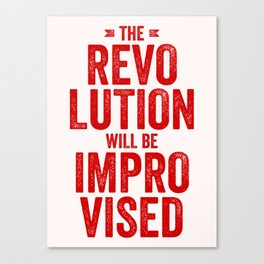 The Revolution Canvas Print