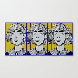 Triple Take Canvas Print