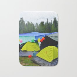 Camping Celebrations Bath Mat