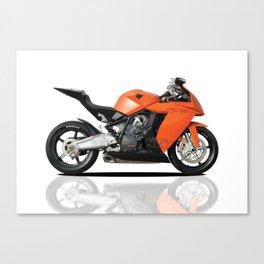 KTM RC8 motorbike Canvas Print