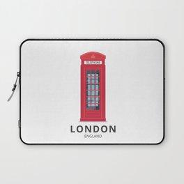 London England K6 Telephone Laptop Sleeve