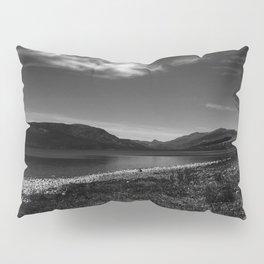 View over Loch Arkaig - b/w Pillow Sham