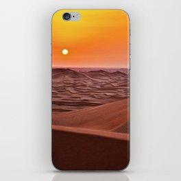 Sun desert 4 iPhone Skin