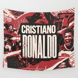 Welcome Home Ronaldo #7 Wall Tapestry