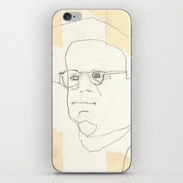 Line Glasses iPhone Skin