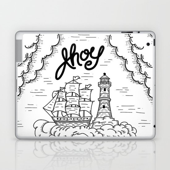Ahoy! Laptop & iPad Skin