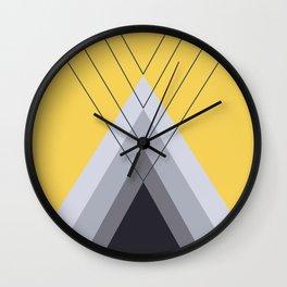 Iglu Primrose Yellow Wall Clock