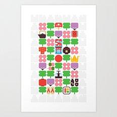 Japan Day Art Print
