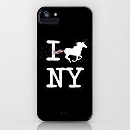 I Unicorn NY iPhone Case