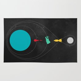 The Space Race Rug