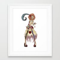 spice Framed Art Prints featuring Spice by Lanrin Heart