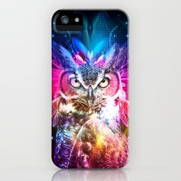Owl Fighter iPhone Case