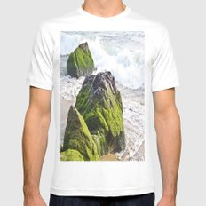 Sublime Slime Mens Fitted Tee White MEDIUM