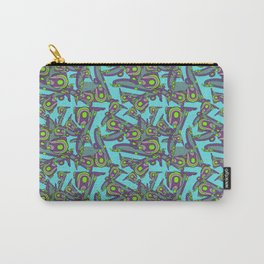 HOUSE CHORES IN BLUE Carry-All Pouch