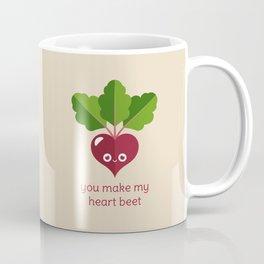 You Make My Heart Beet Coffee Mug