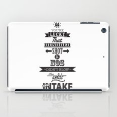 the fast and the furious iPad Case