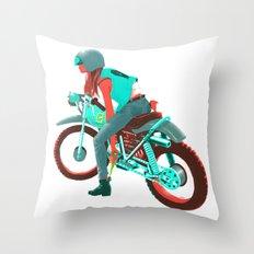 Switchblade Throw Pillow