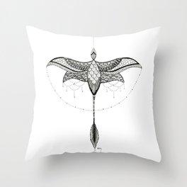 Microraptor 1 Throw Pillow