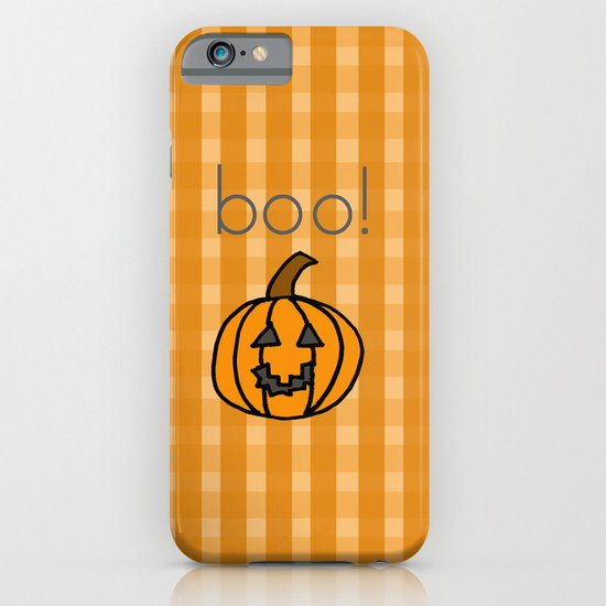 October, boo! iPhone & iPod Case