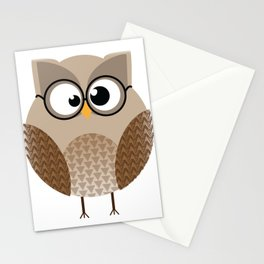 OWL KNOWS EVERYTHING Stationery Cards