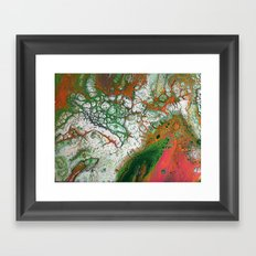 Orange Crush Framed Art Print