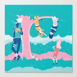 Team 7 Canvas Print
