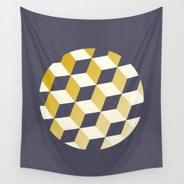 Geometric Circle Study Series No. 2 Wall Tapestry