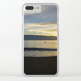 Chasing Clear iPhone Case
