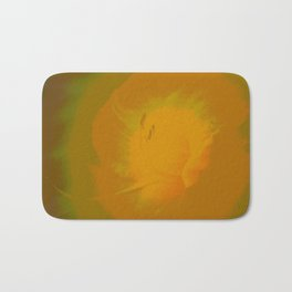 Day Lily Abstract Bath Mat