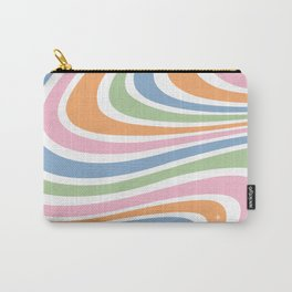 Retro Wave Carry-All Pouch