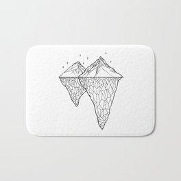 Crystal Mountains Bath Mat