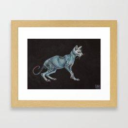 Bare Framed Art Print