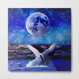 Humpback Whale Metal Print