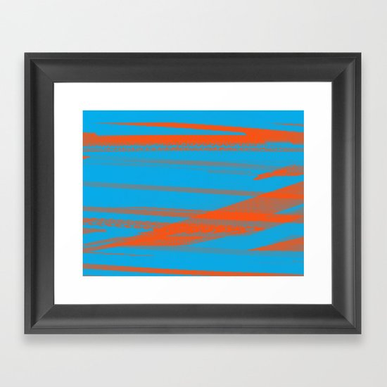 Digital Died/California Framed Art Print