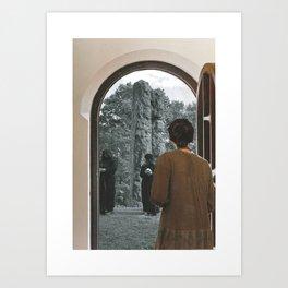 The Doors You Open Art Print