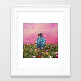 The Flower Field Framed Art Print