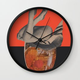 To Fall Off Wall Clock