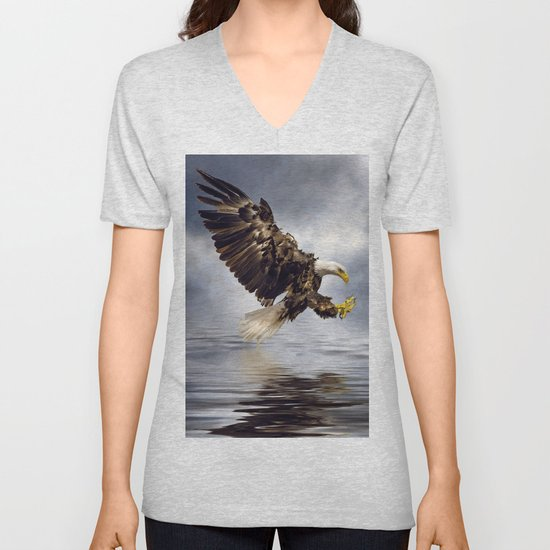 Bald Eagle swooping by tarrby
