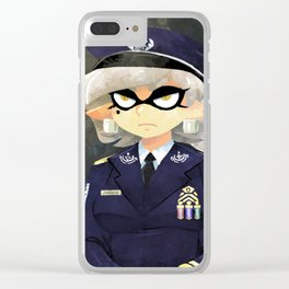 United Squid Air Force Sgt. Marie Clear iPhone Case