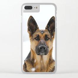 German sheppard Clear iPhone Case