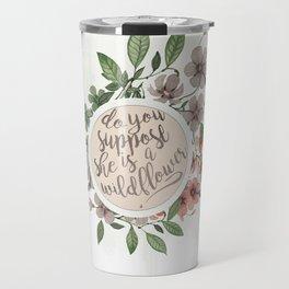 Wildflower Travel Mug