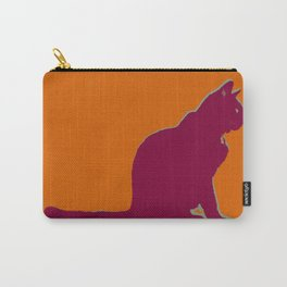 Cat Silhouette Carry-All Pouch