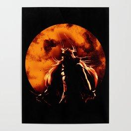 zangetsu full moon Poster