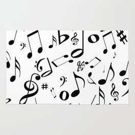 Music in the Air Rug