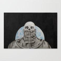 Cloak of Night Canvas Print