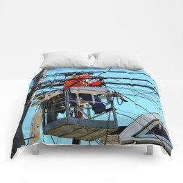 Just A Little Bit Higher Comforters