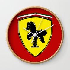 Ferrari cute Wall Clock