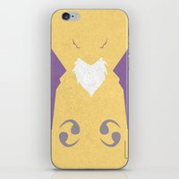 digimon iPhone & iPod Skins featuring Renamon by JHTY